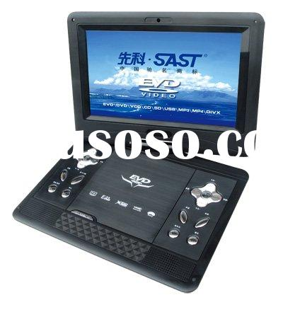 10'' dual screen car dvd player with TV/game