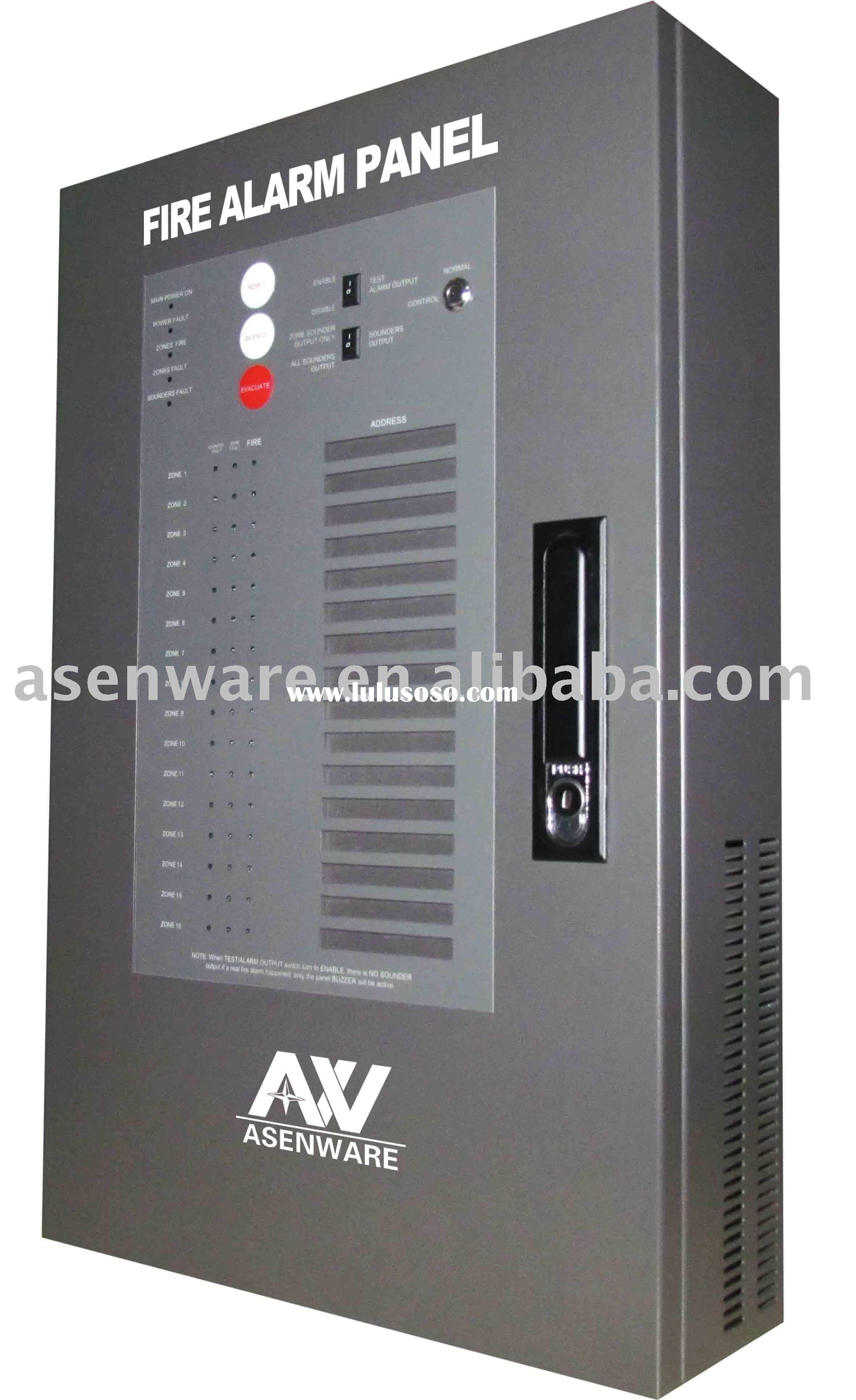 14 Zone conventional fire alarm panel