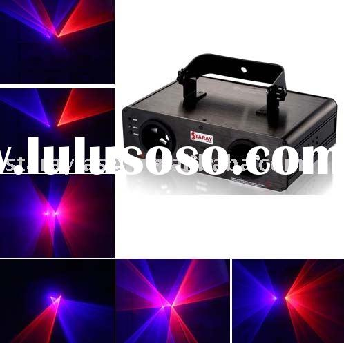 200mw Red& Purple Stage Effect Light ,Laser Projector ,Laser Show System