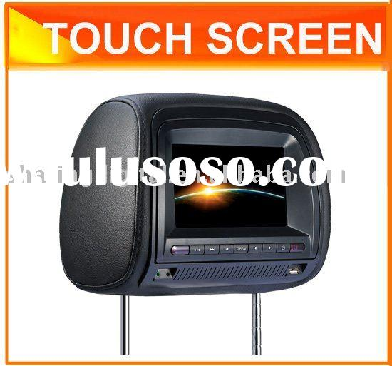 """7"""" Headrest DVD Player with Touch screen"""