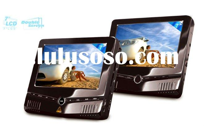 7 inch Dual-Screen Portable DVD player