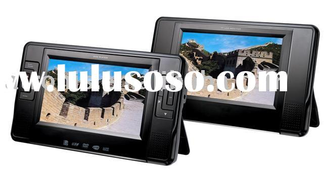 7inch Dual Screen Portable DVD player