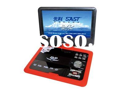 9 inch portable car dvd player with TV/game function