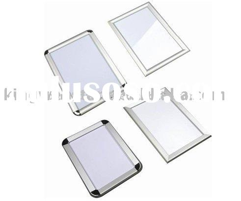 Aluminum LED light box picture frame with beauty crystal