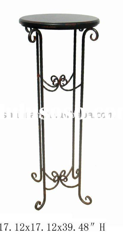 Antique Metal Flower Stand