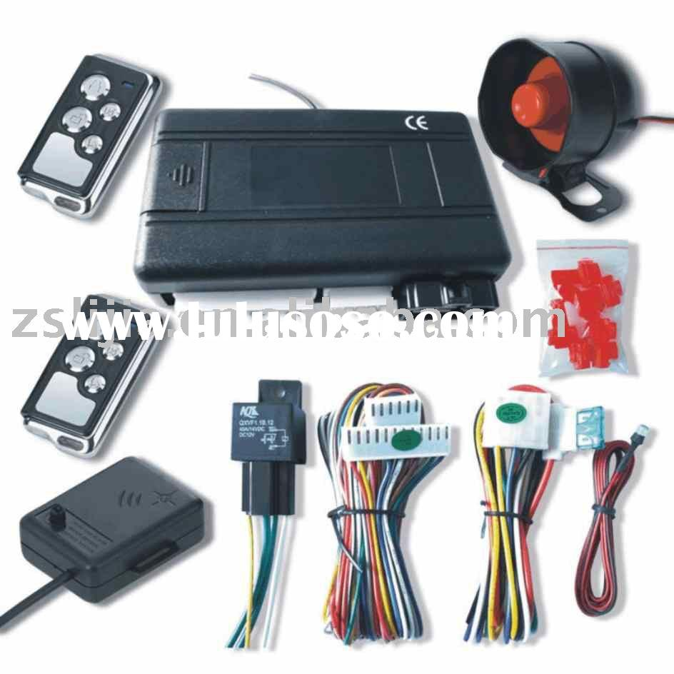 Car Alarm With Remote Engine Start Module Bulit-In