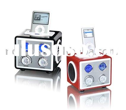 Docking station for IPOD with Radio,Alarm clock