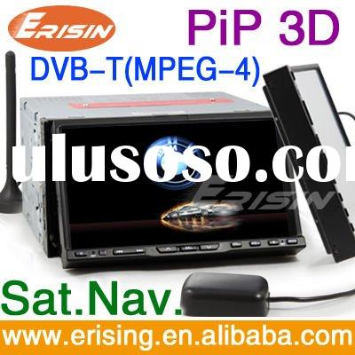 Erisin HD 2 Din 7'' Car DVD Player GPS  DVB-T BT Dual Zone DVB-T(MPEG-4) Detachable
