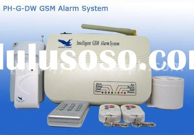 GSM Alarm System NO1 design with sms data