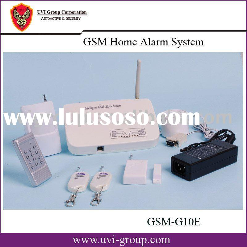 GSM Auto-dialing Alarm System with SMS sending and Remote Control