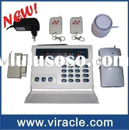GSM Home Alarm System with All-In-One LCD Panel (VH-105)