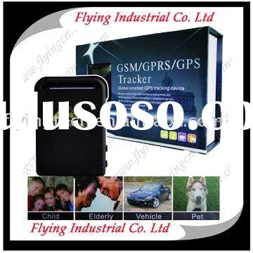 Gps tracking used as car tracker, pet tracker, personal tracker