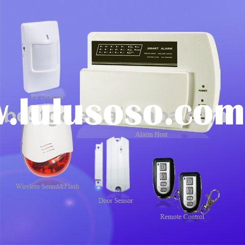 Home Fire and Burglary Alarm System