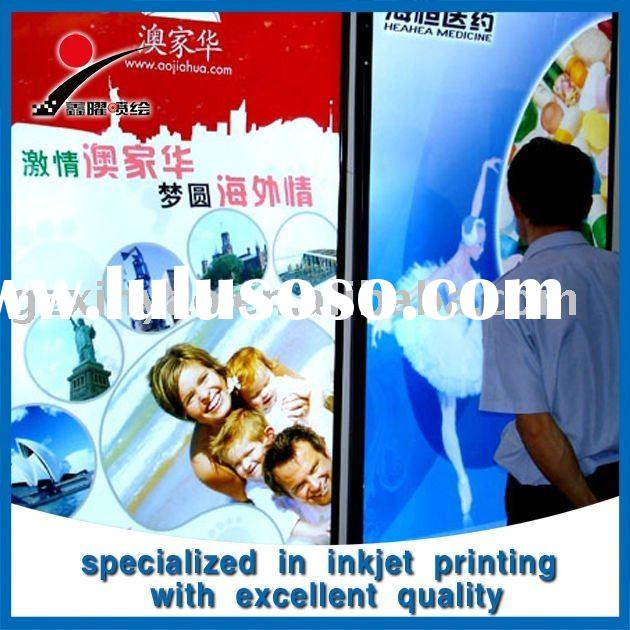 Hot!outdoor scrolling advertising led light box display