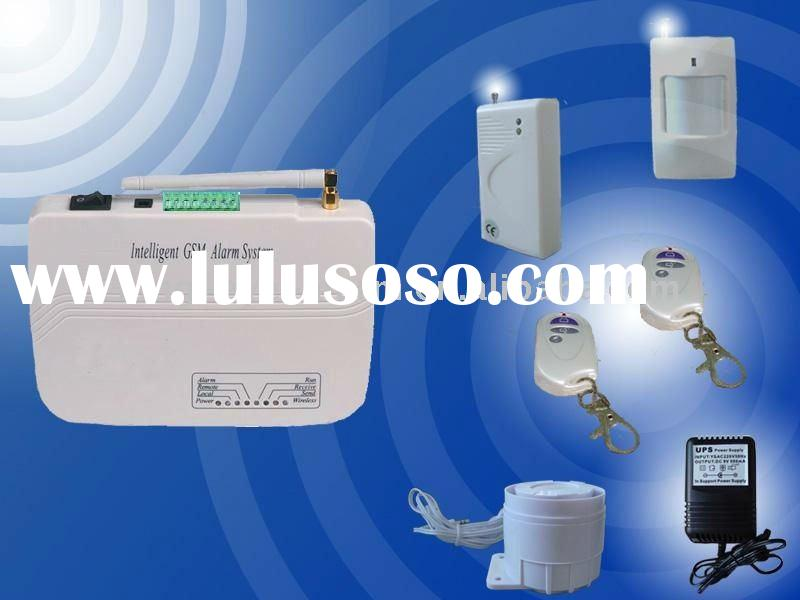 Intelligent wireless GSM home alarm system