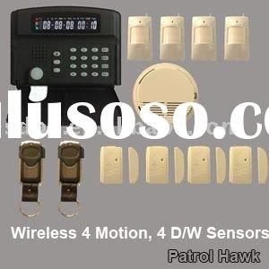 Intelligent wireless fire home alarm system with perfect design