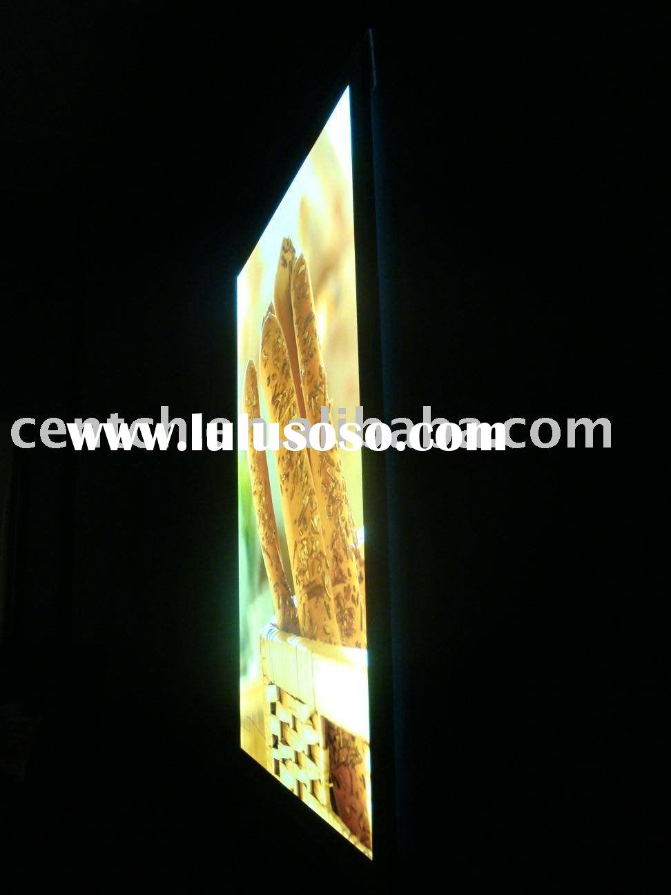 LED Advertising Light Box with Stand, Shanghai Manufacturer