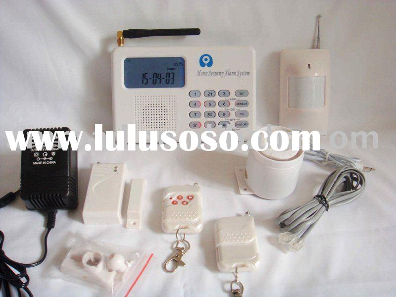 MOST ADVANCED PSTN+GSM DUAL NETWORK HOME SECURITY ALARM SYSTEM  with AUTO DIALER and 2-WAY TALKING D