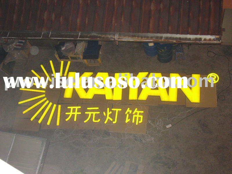 Outdoor LED light box/sign/display/alibaba/LED letter