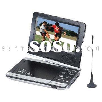 Portable Car DVD  Players built in DVB-T Digital TV Tuner