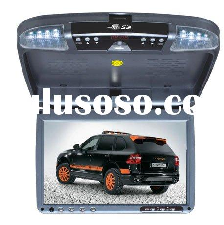 ROOF MOUNT/FLIP DOWN/OVERHEAD CAR AUTO DVD PLAYER WITH USB+SD+TV+IR--TRM9500