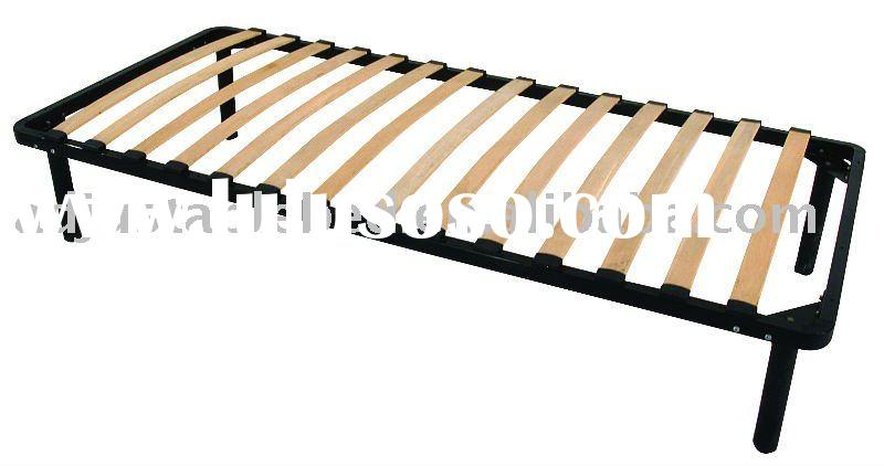Slatted Bed base (Wood and Metal)