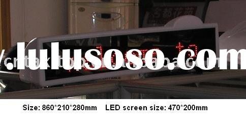 Taxi light box/Taxi advertising/Taxi display/Taxi roof lamp/ taxi roof sign