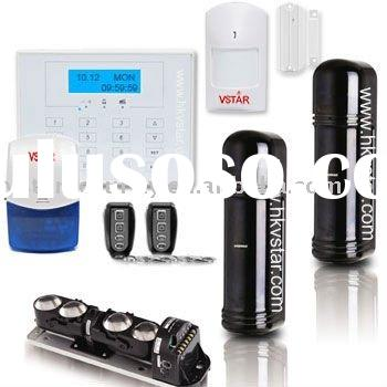 Three Beam Wired Wireless Perimeter Alarm System best home alarm system