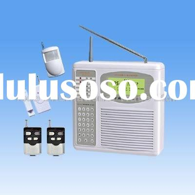 Wireless GSM/PSTN Dual Network Alarm System with LCD Display and Contact ID Compatibility