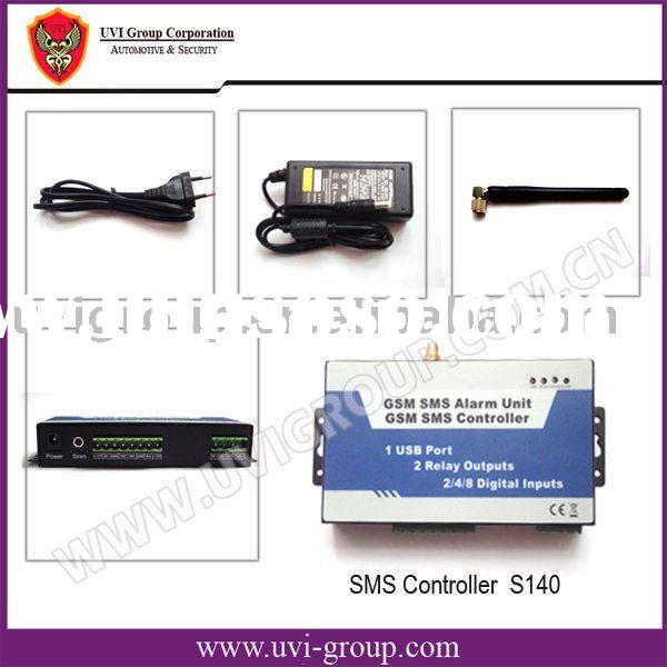 Wireless GSM Security Alarm System with SMS control to switch on/off home appliance and equipment by