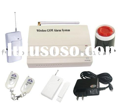 Wireless GSM home alarm system kit