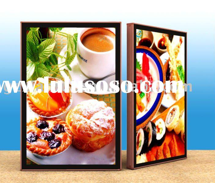 advertising scrolling light box