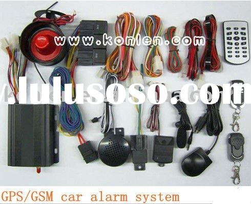 gsm module car alarm system with GPS function
