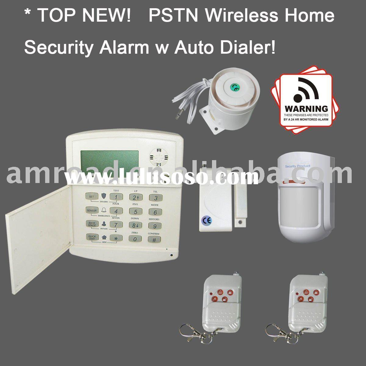 iHome328  PSTN Wireless Home Office Security Alarm System w LCD Display Auto Dialer