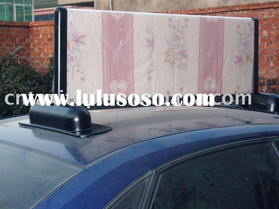 taxi top light box/Taxi advertising/Taxi roof/Taxi display