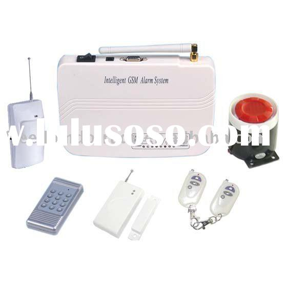 wireless home fire alarm system
