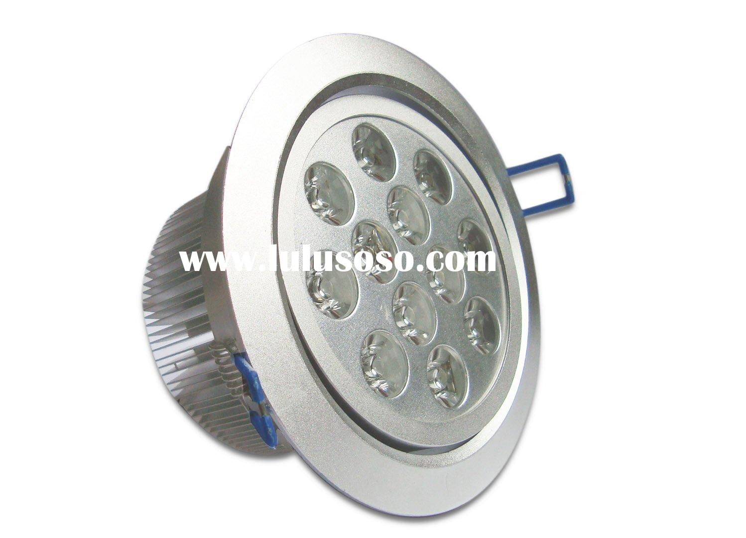 12*1Watt Recessed LED Downlight,equivalent to 100 Watt incandescent bulb