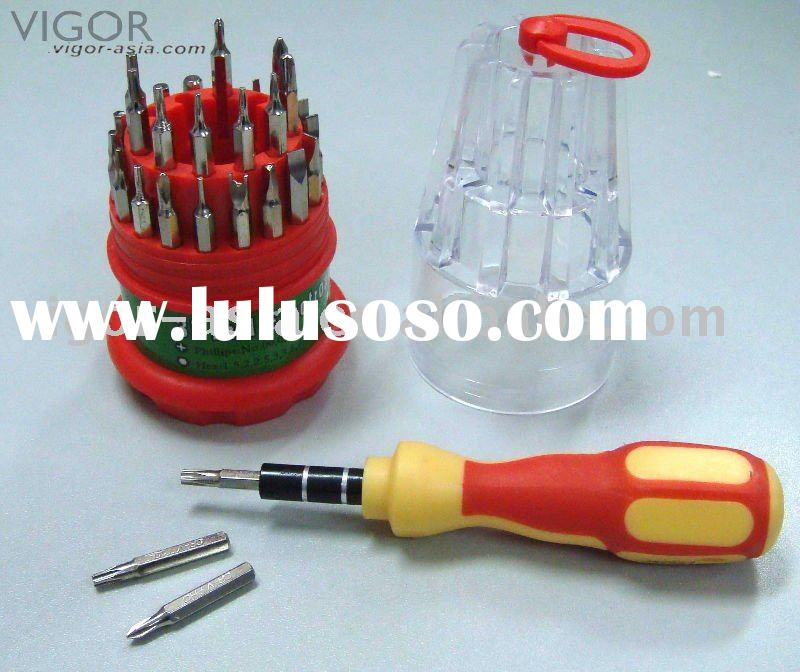 31pc  precision screwdriver set