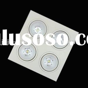 4*10 W High Power Quadruple LED  Recessed Downlight, Classic