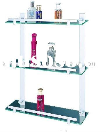 Bathroom Accessories - Aluminum Three layers storage stand-EHA813