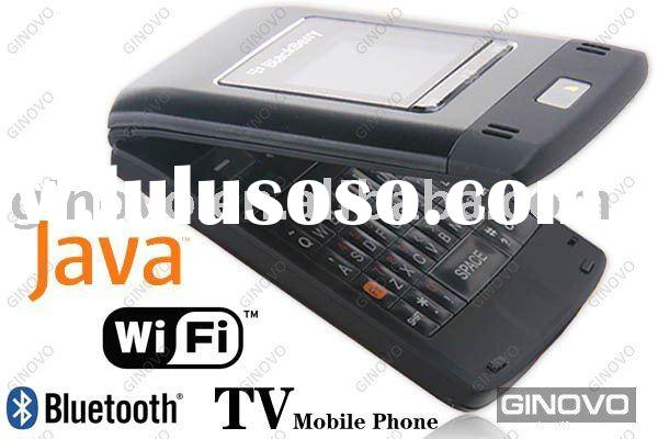 Classic Black Rouge Box Flip Cell Phone+ JAVA+ WiFi+ Bluetooth+ Opera mini+ Google map+ Gmail+ TV+ S