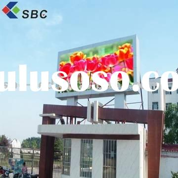 Electronic led outdoor advertising display