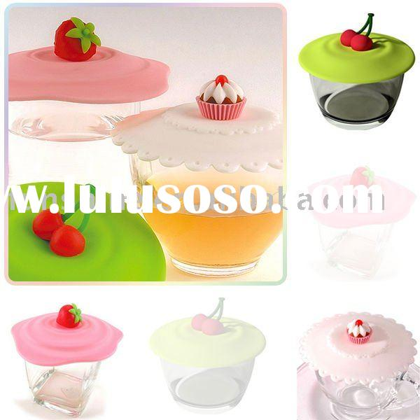 FDA GREADE silicone  Cup Cover,cup lids , kitchen accessories