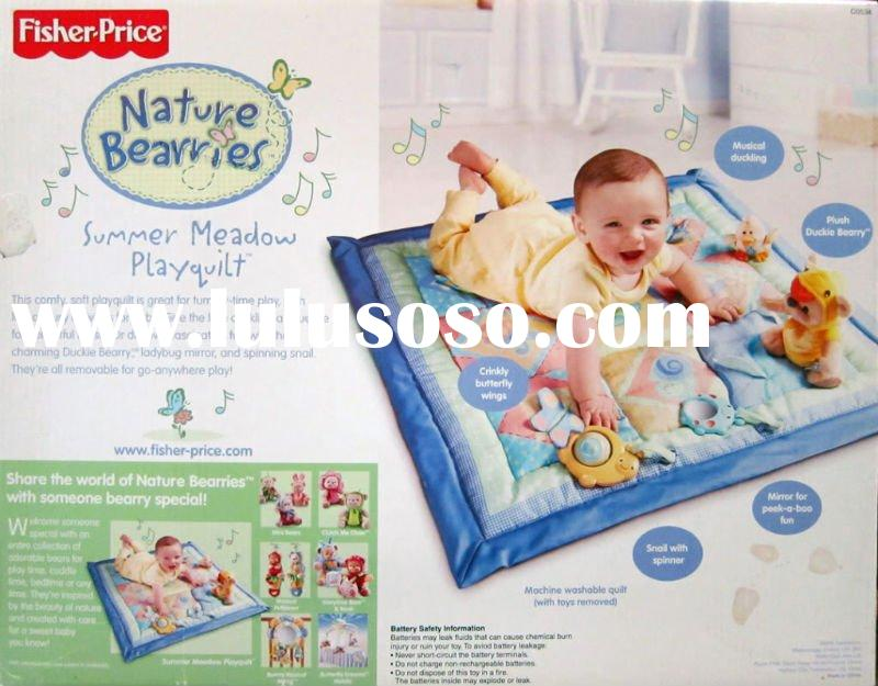 Fisher***Price Nature Bearries Summer Meadow Quilt /children toys