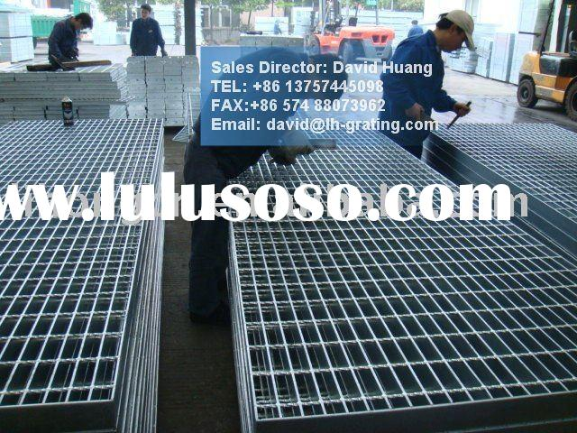 Galvanized floor steel grill