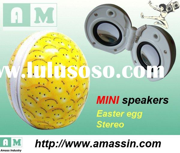 Latest Computer accessories,Easter egg-shaped mini speakers