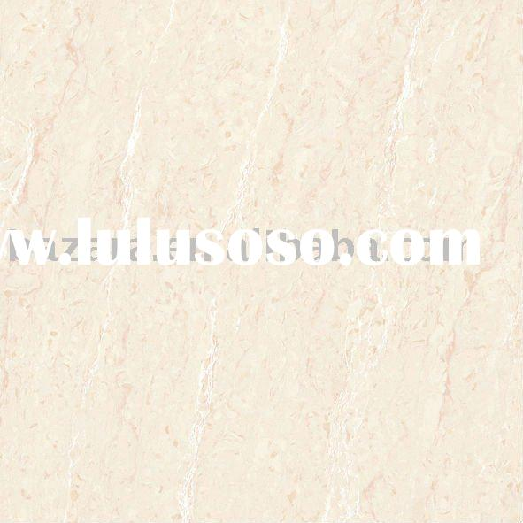 Light Pink Color Stone Line Pattern Double-Loading Porcelain Polished Tile