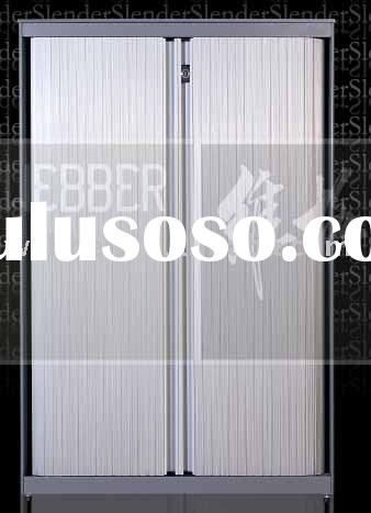 Metal roller shutter door cabinets for filing (Slim design)