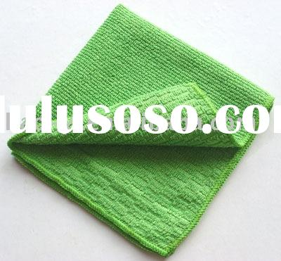 how to clean grease microfiber cloths