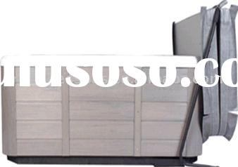 Outdoor Hot Tub Accessories - Spa Cabinet Free Cover Lift